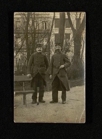 FRAD062_050 - Léonce Desbureaux, voeux de fin d'année à sa femme Clémence, décembre 1914.