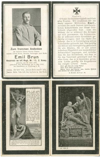 FRAD043_056 Deux frères alsaciens d'une guerre à l'autre, Emil et Joseph Brun
