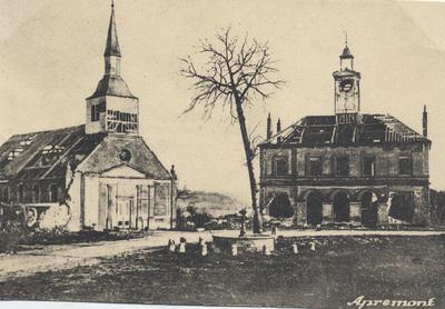 Feldpostkarten aus Apremont und weiteren Orten an der Westfront