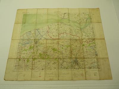 Stafkaart 1915