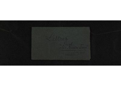 FRBMTO-043 Clément Decomble : lettres du front et de l'Arrière-Front