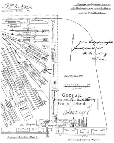 Der Eisenbahn-Neben-Ersatzpark Hanau (E.N.E.P.) 1914 - 1918