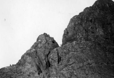 Bestiging av fjell - Besteigung des Fols