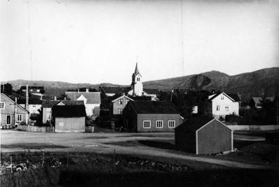 Utsikt fra fisketorget mot øst - Blockhaus Kirchberg und Schule