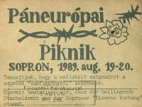 Páneurópai Piknik tanúsítvány