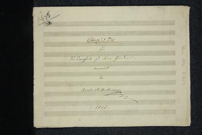 Scherzo und Trio