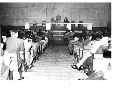 Convegno sul cristianesimo alla casa delle libertà. Capitini, Zanga, Pinna