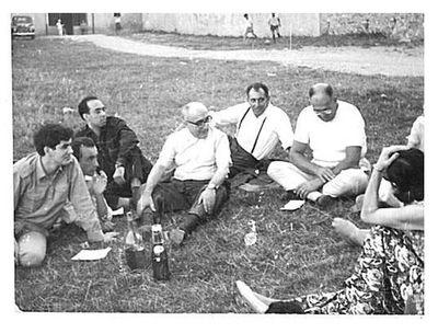 Daniele Lugli, Enzo Bellettato, Pietro Pinna, Danilo Dolci, Aldo Capitini, Riccardo Tenerini, Eugenia Bersotti