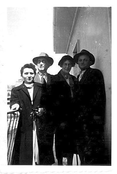 Capitini, Luisa Schippa e due persone