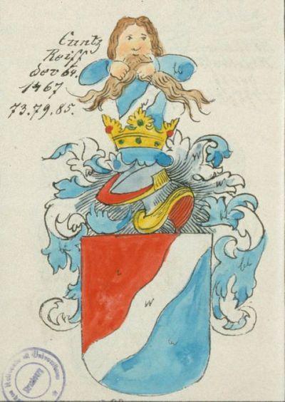 Cuntz Reiff der 64. Ammeister 1467, 73, 79, 85