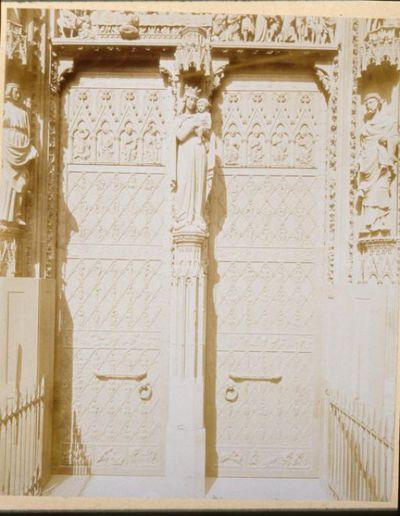 Strasbourg, Cathédrale, Façade Ouest, portail central (TR)