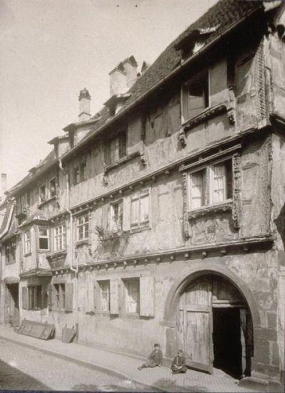 Wissembourg, Wollengasse, maison Dietenbeck (TR)