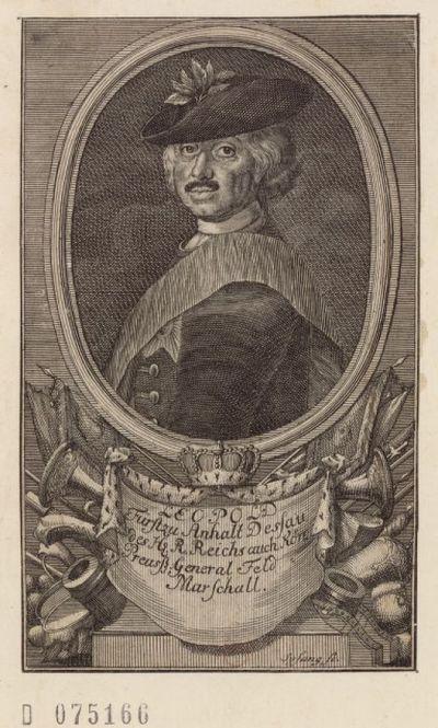 [Recueil. Portraits de Leopold, prince d'Anhalt-Dessau (XVIIe-XVIIIe s.)]