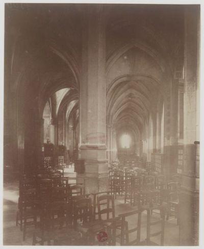 Intérieur - Eglise S.t Séverin : [photographie] / [Atget]