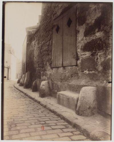 Vanves : vieille rue : [photographie] / E. Atget