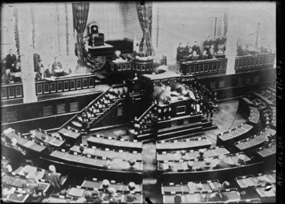 Parlement japonais [intérieur lors d'une séance] (CNews) : [photographie de presse] / [Agence Rol]