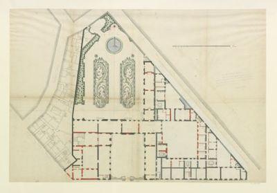 Plan de l'hôtel de Toulouse : [dessin]