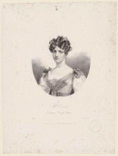 Laure Cinthie Montalant, dite Cinti-Damoreau / Pierre-Roch Vigneron