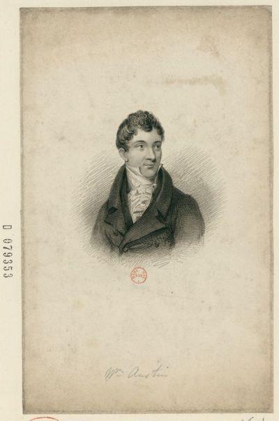 [Recueil. Portraits de William Austin (XIXe s.)]
