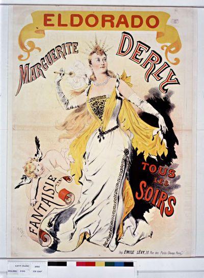 Eldorado. Marguerite Derly, Fantaisie, tous les soirs. : [affiche] / av.M [?] [signature incertaine]
