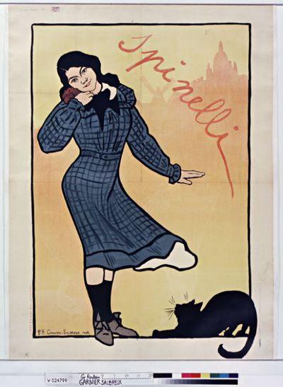 Spinelli : [affiche] / P.H. Garnier-Salbreux 1909