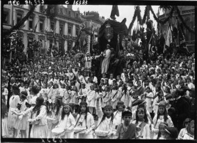 M. Poincaré en Belgique : à Liège : [photographie de presse] / Agence Meurisse