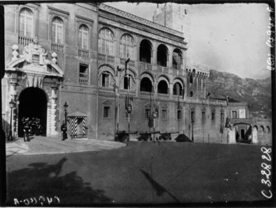 Monte-Carlo : façade du Palais : [photographie de presse] / Agence Meurisse