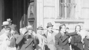 Universitari della facoltà di Economia e Commercio. Torino, anni 1937 - 1941