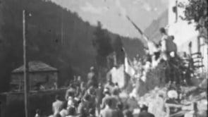 Inaugurazione della centrale idroelettrica di Maën