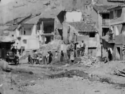 La atástrofe de Aguilón [Obra audiovisual] / Antonio de Padua Tramullas.