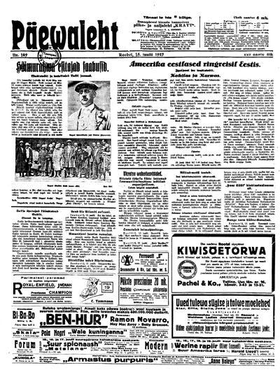 Päevaleht - 1927-07-15