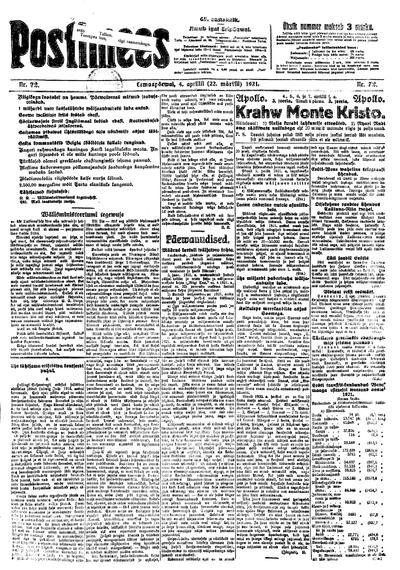 Postimees - 1921-04-04