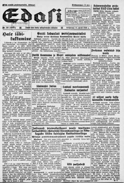 Edasi - 1930-03-25
