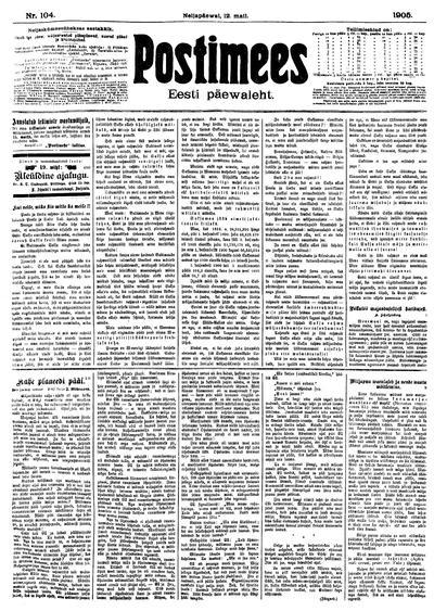 Postimees - 1905-05-12