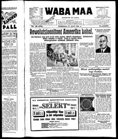 Waba Maa - 1934-07-17