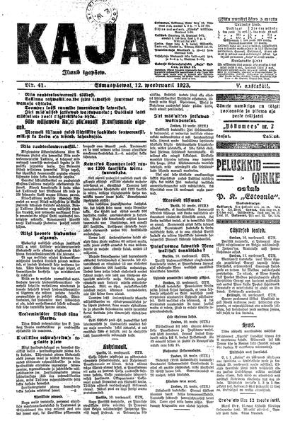 Kaja - 1923-02-12