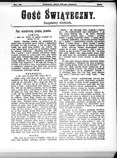 Głos Śląski - 1917-03-24