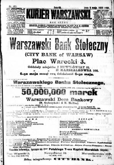 Kurjer Warszawski - 1939-05-08