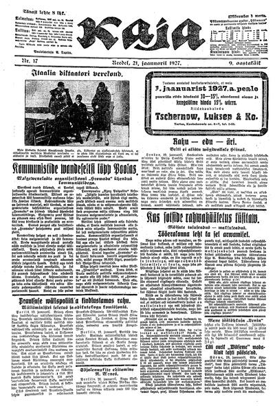 Kaja - 1927-01-21