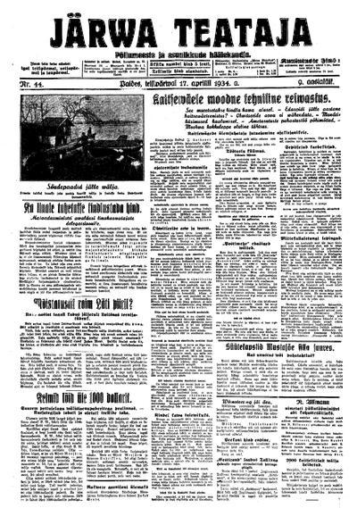 Järva Teataja - 1934-04-17