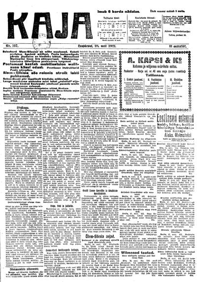Kaja - 1921-05-28