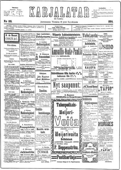 Karjalatar, nr: 105 - 1904-09-13