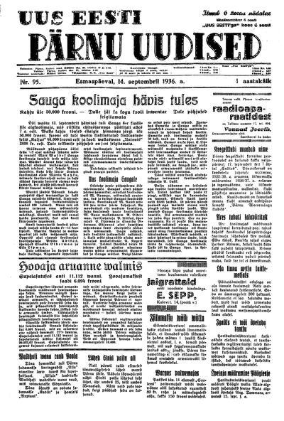Uus Eesti Pärnu Uudised - 1936-09-14