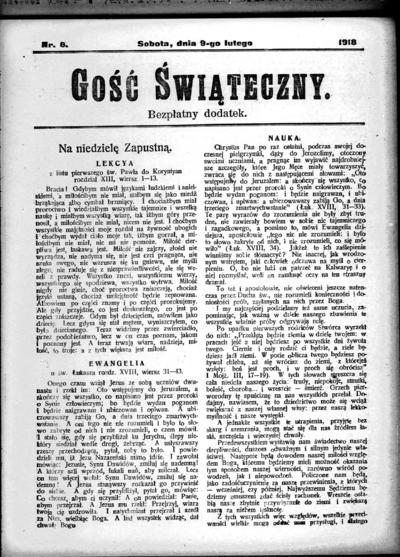 Głos Śląski - 1918-02-09