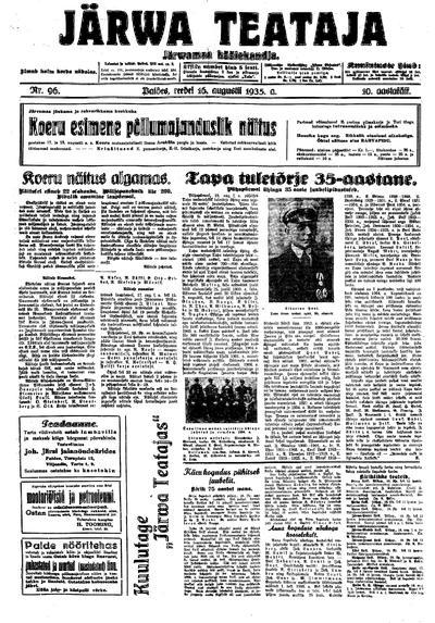 Järva Teataja - 1935-08-16