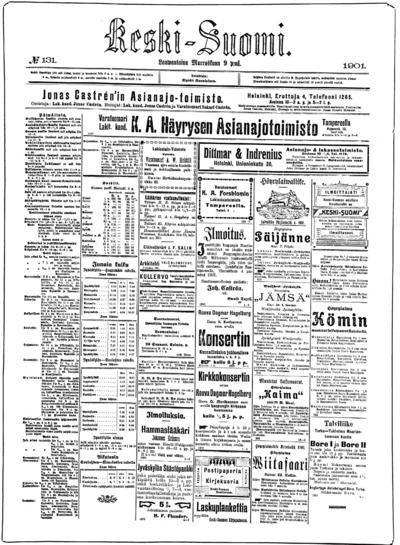 Keski-Suomi, nr: 131 - 1901-11-09