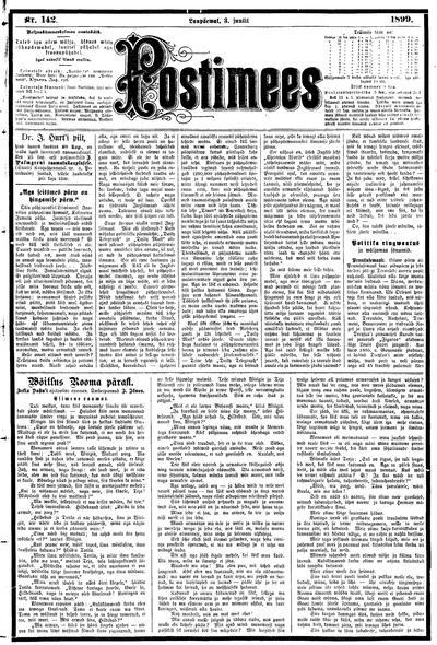 Postimees - 1899-07-03