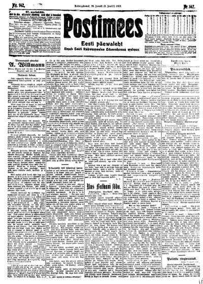 Postimees - 1913-06-26