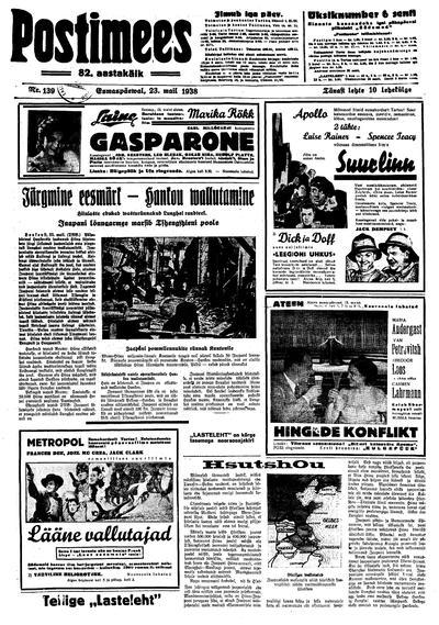 Postimees - 1938-05-23