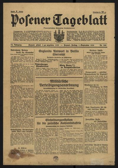 Posener Tageblatt